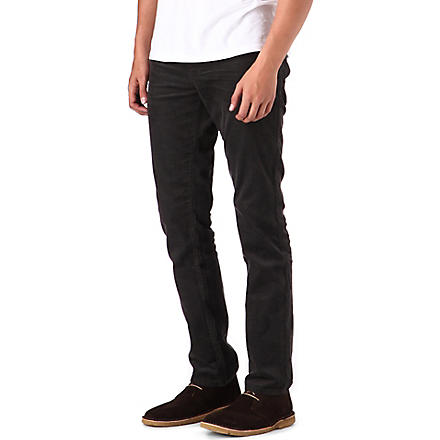 HUGO BOSS Slim corduroy jeans (Grey