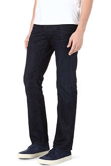 HUGO BOSS Regular tapered dark jeans
