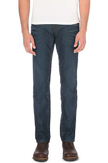 HUGO BOSS Regular-fit straight jeans