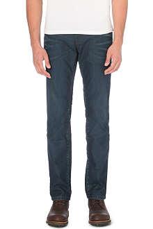 HUGO BOSS Regular-fit straight jeans