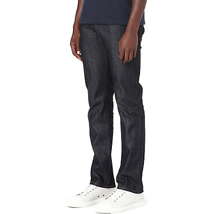 HUGO BOSS Regular-fit straight jeans (Navy