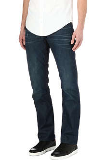 HUGO BOSS Orange regular-fit straight jeans