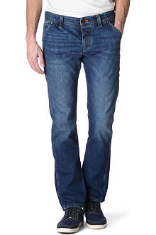 HUGO BOSS Orange 57 tapered-fit jeans