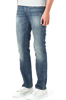HUGO BOSS Slim five-pocket denim jeans