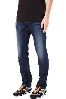 HUGO BOSS Orange slim-fit straight jeans