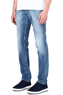 HUGO BOSS Slim-fit straight jeans