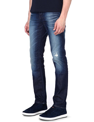 HUGO BOSS Slim-fit tapered jeans