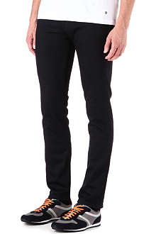 HUGO BOSS Skinny-fit straight-leg jeans