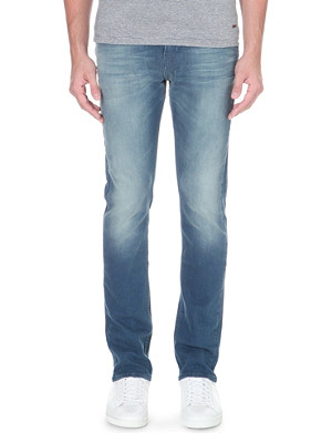HUGO BOSS Slim-fit stretch-denim jeans