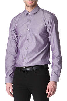 HUGO BOSS Orien slim-fit single cuff shirt