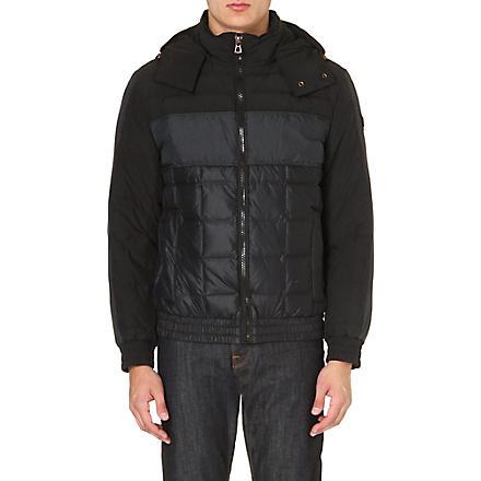 HUGO BOSS Orsolmo quilted bomber jacket (Black