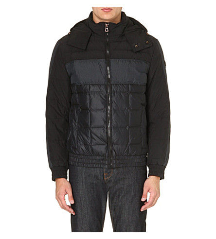HUGO BOSS Orsolmo quilted bomber jacket (Black