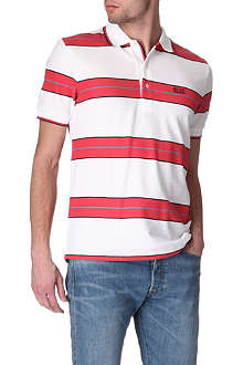 HUGO BOSS Cotton-piqué polo shirt