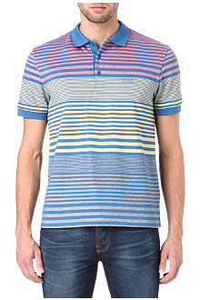 HUGO BOSS Paddy gradient stripe polo shirt