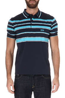 HUGO BOSS Paddy striped polo shirt