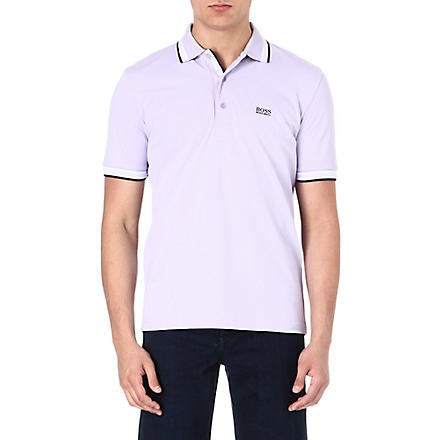 HUGO BOSS Paddy polo shirt (Purple
