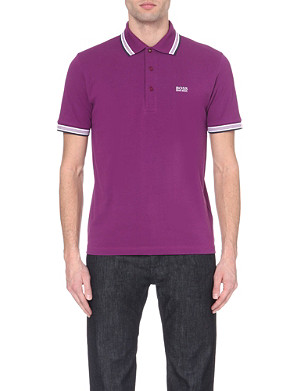 HUGO BOSS Modern-fit cotton polo shirt