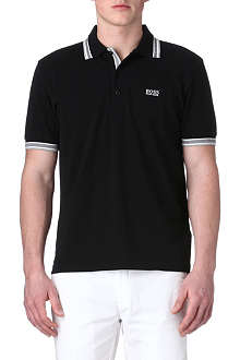 HUGO BOSS Paddy contrasting-trim polo shirt