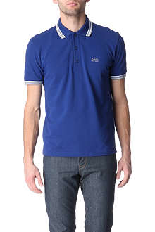 HUGO BOSS Paddy contrasting-trim polo shirt