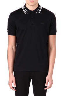 HUGO BOSS Diamond jaquard polo shirt