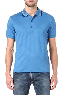 HUGO BOSS Paddy diamond jaquard polo shirt
