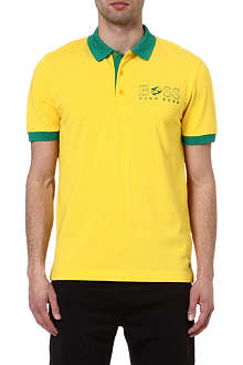HUGO BOSS Brazil World Cup polo shirt