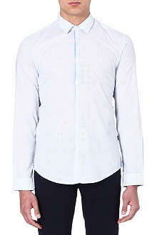 HUGO BOSS Circular print shirt