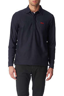 HUGO BOSS Partin long-sleeved rugby top