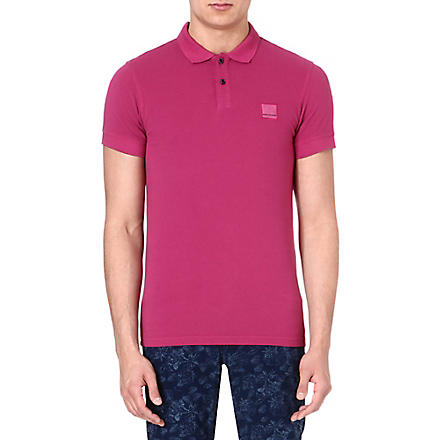 HUGO BOSS Logo polo shirt (Purple