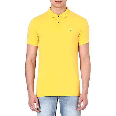 HUGO BOSS Logo polo shirt (Yellow