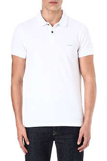 HUGO BOSS Pascha cotton-piqué polo shirt