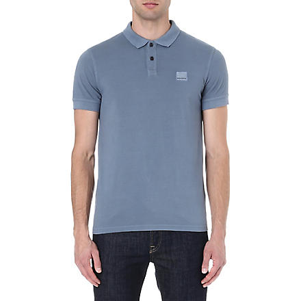 HUGO BOSS Pique polo shirt (Sky