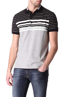 HUGO BOSS Paule stretch-jersey polo shirt