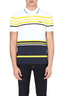 HUGO BOSS Piqué stripe polo