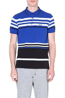 HUGO BOSS Paule striped polo shirt