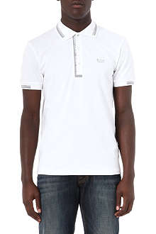 HUGO BOSS Logo placket polo shirt