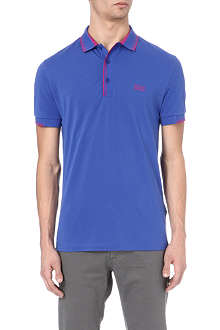 HUGO BOSS Stripe detail polo shirt