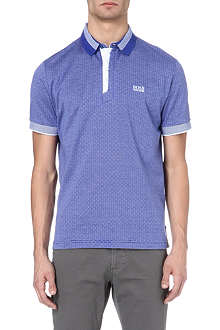 HUGO BOSS Brick work cotton polo shirt