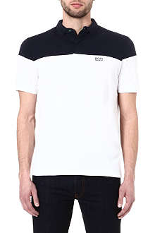 HUGO BOSS Pedro colourblock polo shirt