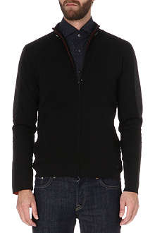 HUGO BOSS Pegasus knitted jacket