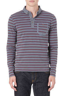 HUGO BOSS Pharris striped polo shirt