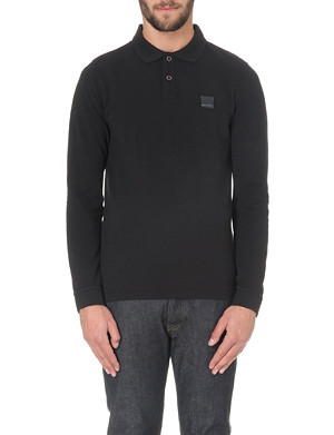 HUGO BOSS Phlash cotton-piqué polo shirt