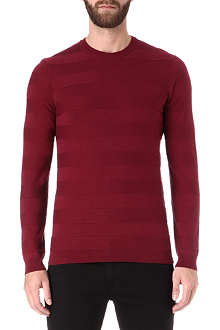 HUGO BOSS Picardo striped jumper
