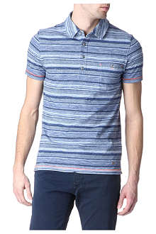 HUGO BOSS Picasso striped polo shirt