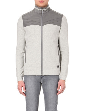 HUGO BOSS Regular-fit jersey jacket
