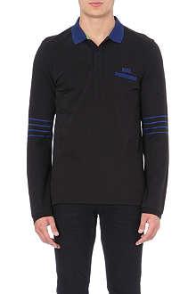 HUGO BOSS Plisy cotton-piqué polo shirt