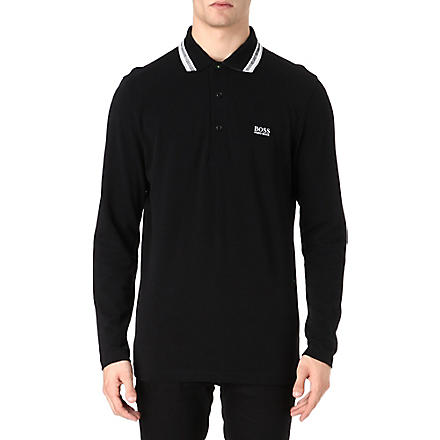 HUGO BOSS Plosy polo shirt (Black