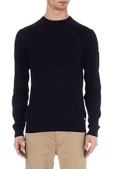 HUGO BOSS Merino wool crew-neck jumper