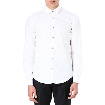 HUGO BOSS Riccardo slim-fit shirt (White