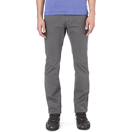 HUGO BOSS Rice slim-fit trousers (Grey